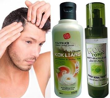 Amazon.com: Set: wow-tonic/Kok Liang Pérdida de cabello ...