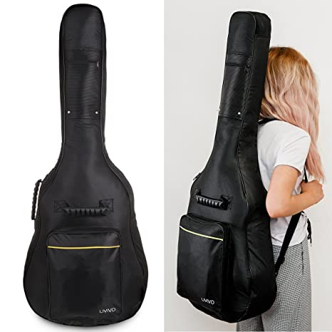 Guitarra acústica 3/4de 90 cm, para estudiantes, adultos