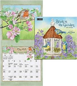 LANG Birds In The Garden 2021 Mini Wall Calendar (21991079268)