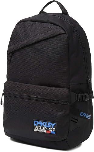 Oakley Rubber Patch Backpack Blackout Mens