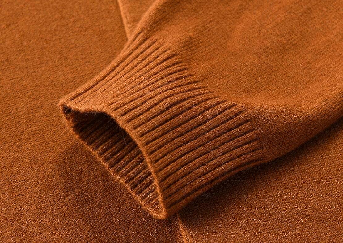 YONGM Men Casual Long Sleeve Turtleneck Pullover Sweaters