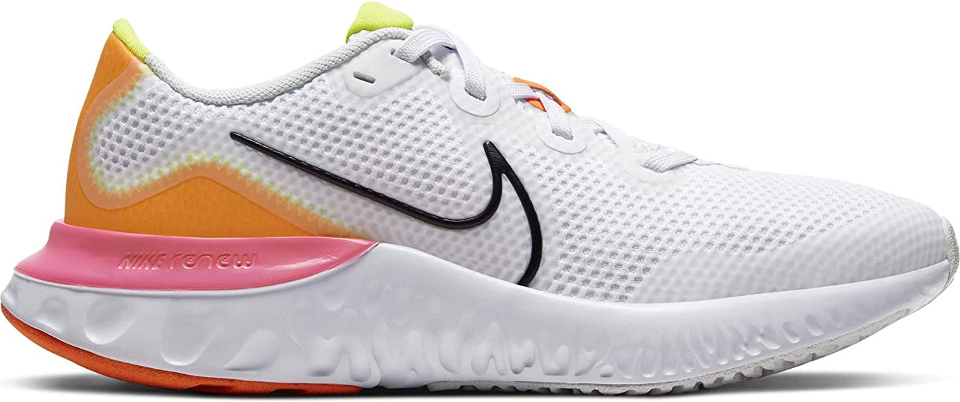 Nike Renew Run (GS), Zapatillas para Correr Unisex niños, White ...