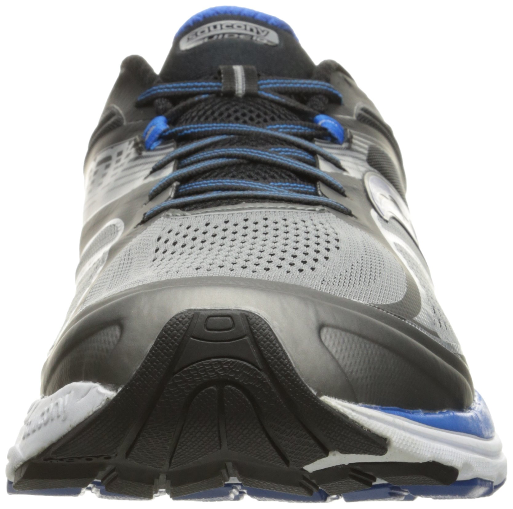 Saucony Men's Guide 10 Running Shoes, Grey Black, 14 D(M) US by Saucony (Image #4)
