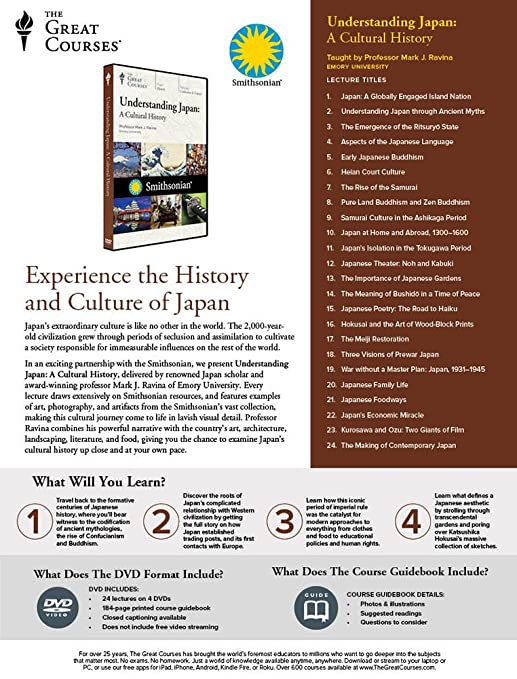 Amazon com: Understanding Japan: A Cultural History: Movies & TV