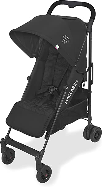 Maclaren Quest Arc Stroller- Ideal for Newborns up to 25kg with extendable UPF 50+/Waterproof Hood, Multi-Position seat and 4-Wheel Suspension. Maclaren Carrycot Compatible. Accessories in The Box