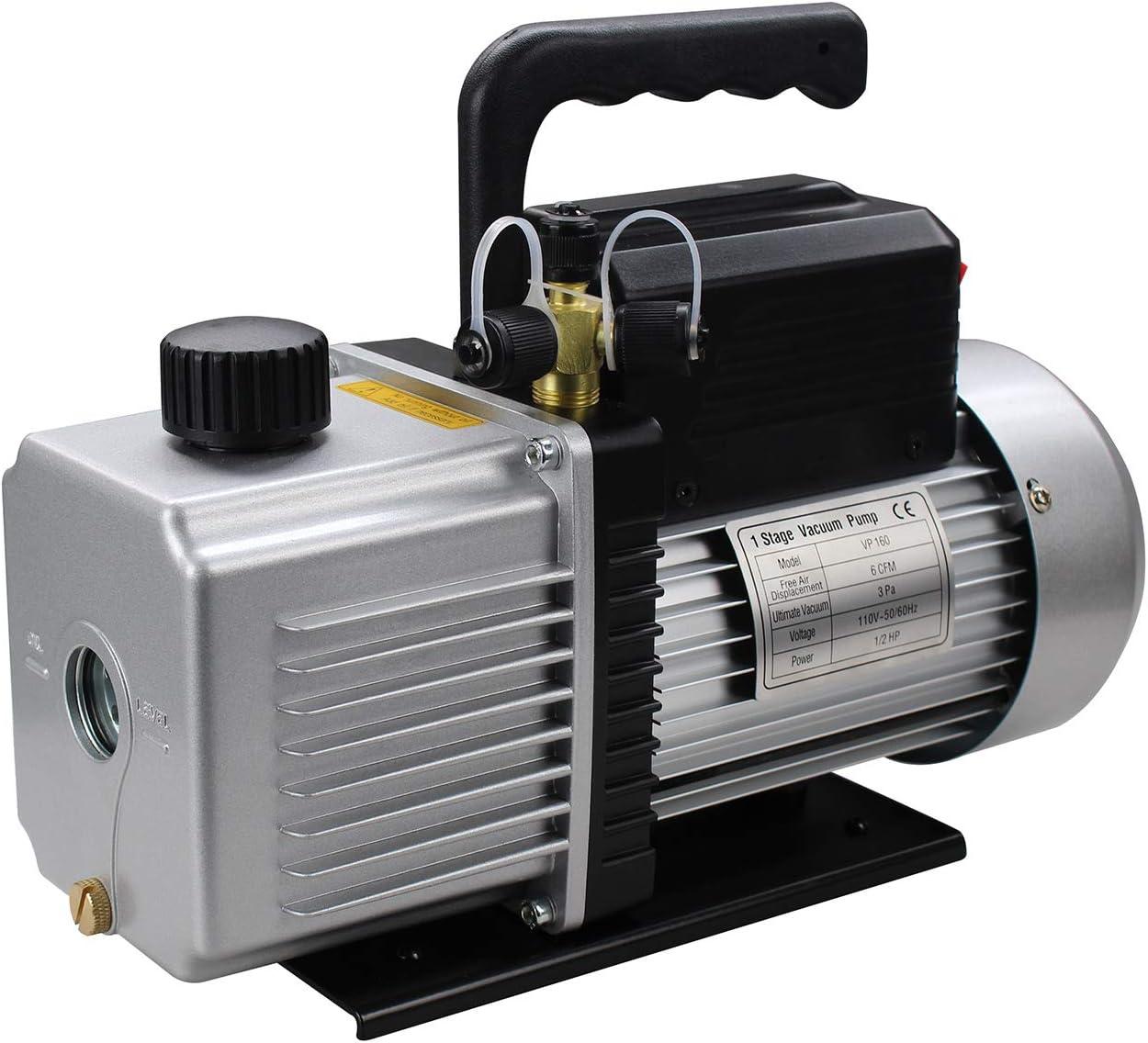OEMTOOLS 24642 6 CFM Spark-Free Vacuum Pump