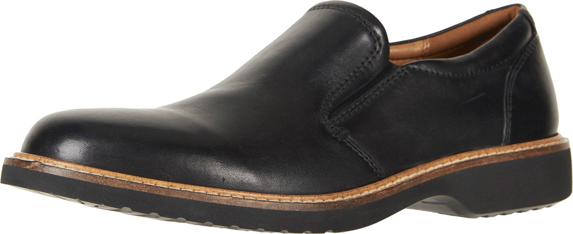 ECCO Men's Ian Casual Slip-on Loafer, Black, 43 EU/9-9.5 M US by ECCO