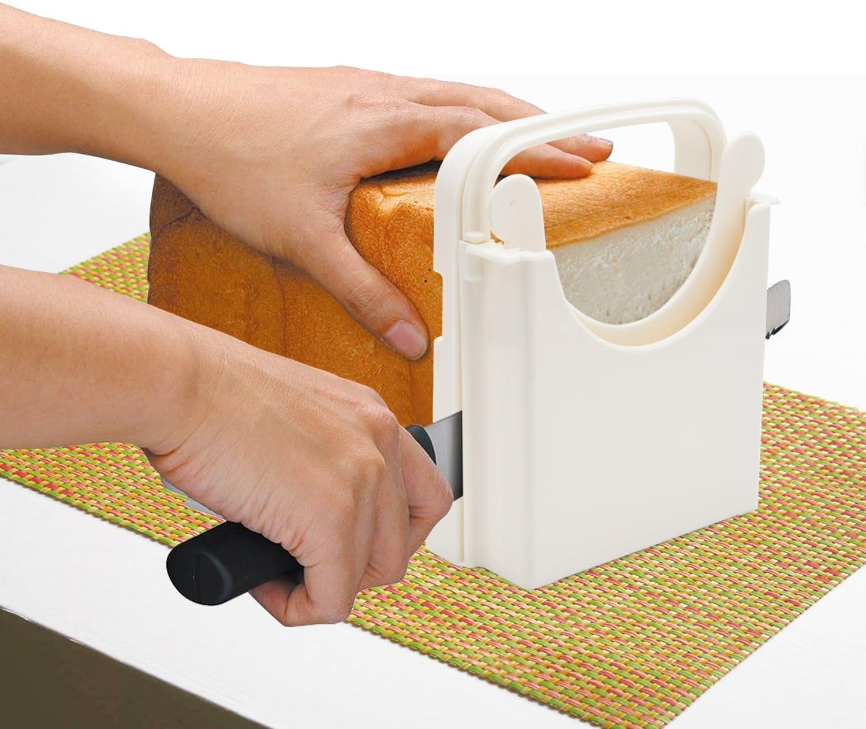 Amazon.com: Cortador de pan, cortador de pan ajustable ...