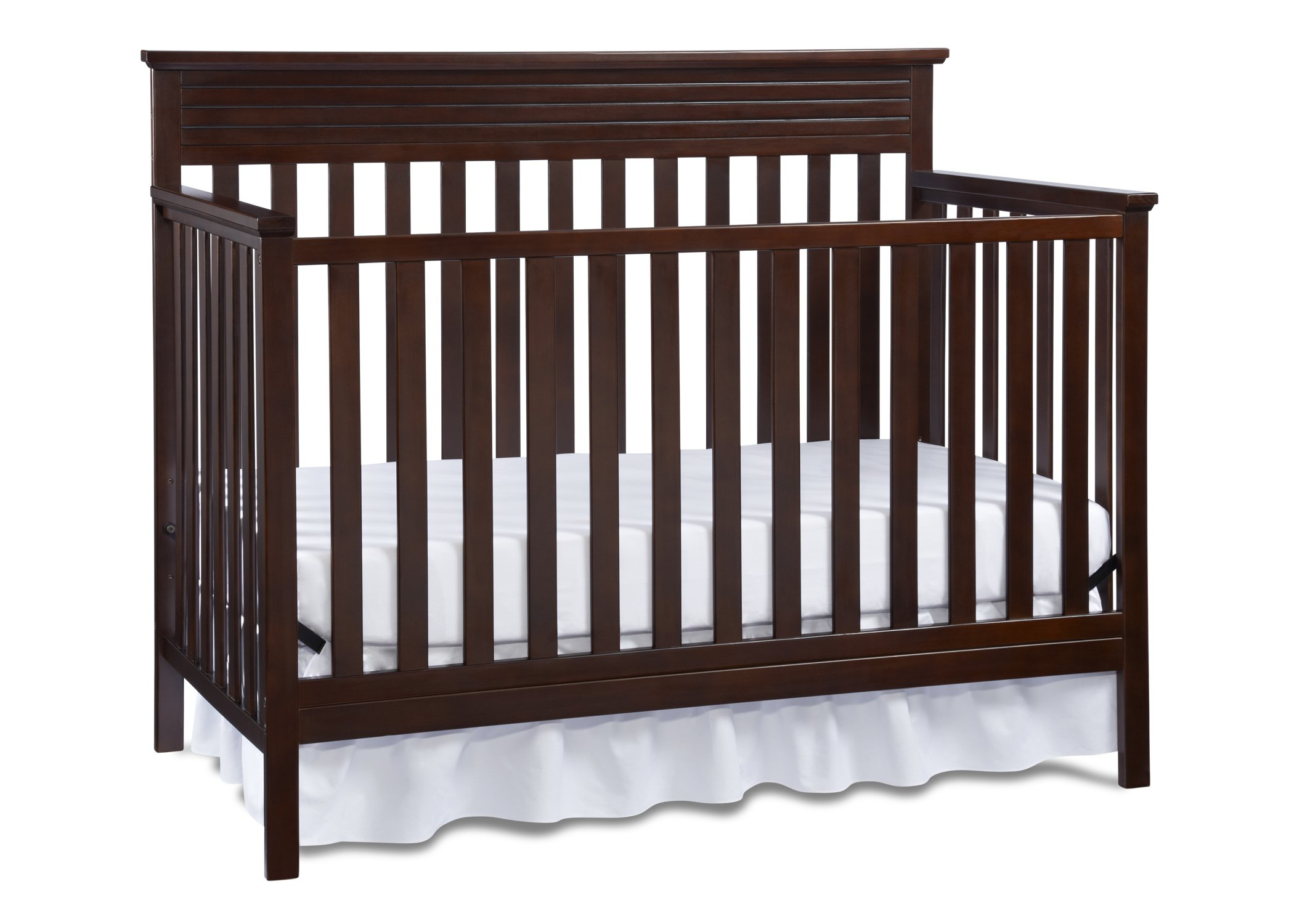 Fisher-Price Newbury 4-in-1 Convertible Crib, Espresso