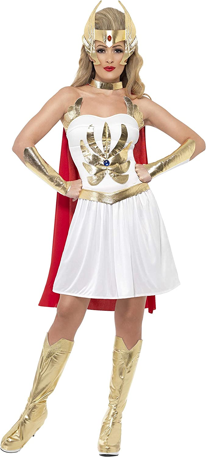 Ladies Standard She-Ra Costume - Sizes 8 to 18