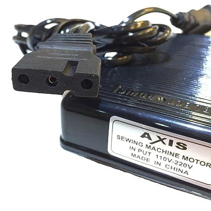 Axis control electrónico de pie con cable (369434003) (419451 - 003) Serger máquina de coser Singer pie pedal controlador de velocidad variable para Juki ...