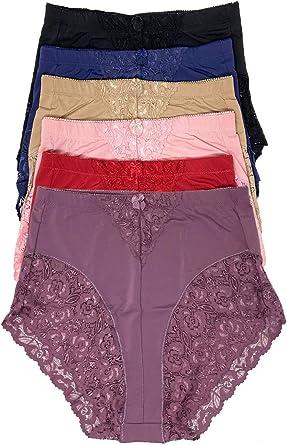 Womens Lace Soft Trendy Panties Simple Panties