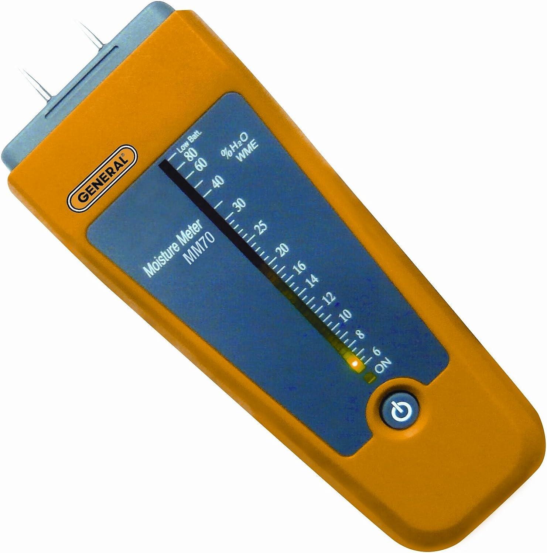 General Tools Moisture Meter Led