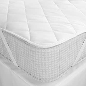 Mharo Rajasthan Waterproof Double Bed White Mattress Protector