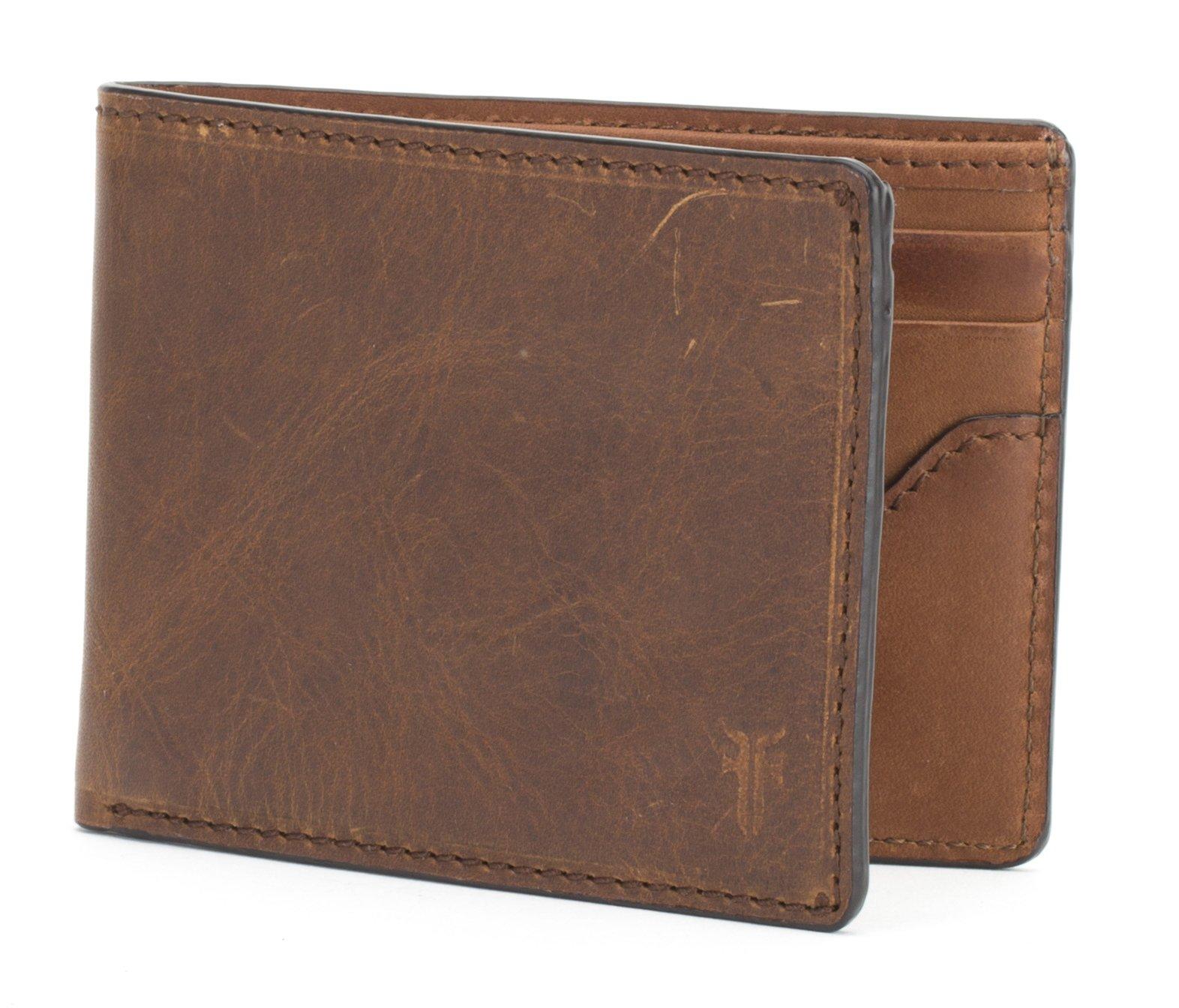 Logan Slim Id Billfold Wallet, cognac, One Size