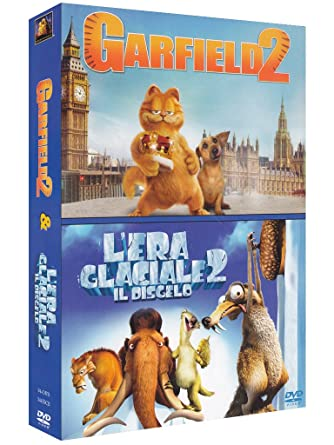 Amazon Com Garfield 2 Era Glaciale 2 L Il Disgelo 2 Dvd Import Animazione Animazione Tim Hill Movies Tv