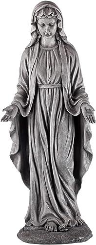 John Timberland Virgin Mary Outdoor Statue 29 1/2″ High Sculpture