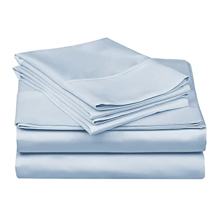 Nice 1000TC 100 Percent Egyptian Cotton Bed Sheet Set/ 4 Piece Set/ Flat Fitted