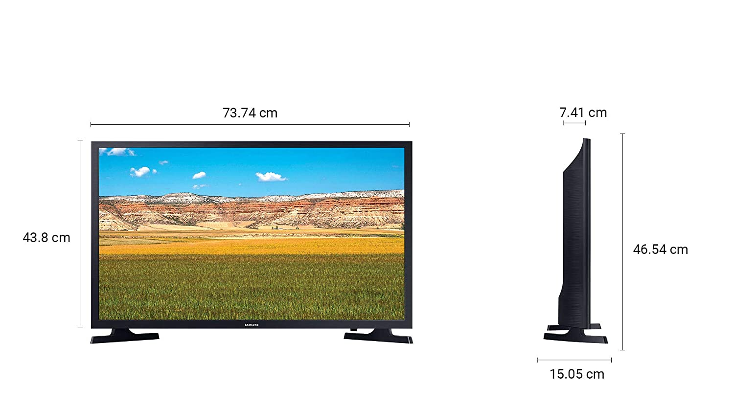 Samsung 80 cm (32 Inches) HD Ready Smart LED TV