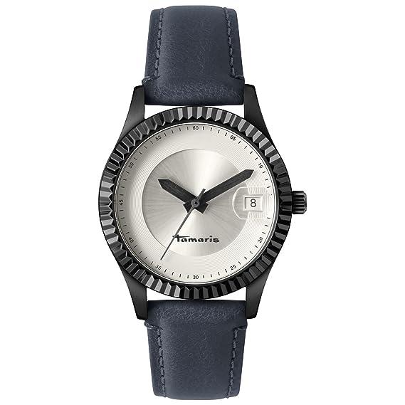Tamaris reloj mujer DEBBY piel azul b07510010