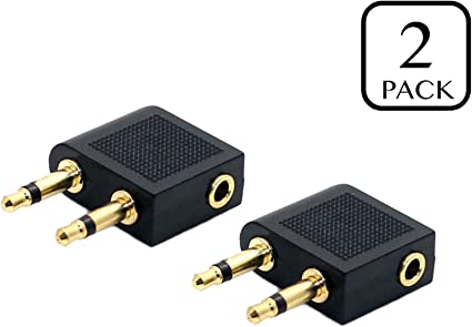 3.5mm  Stereo AUX Jack 2 Male to 1 Female F Splitter Headphone Audio Adapt ML