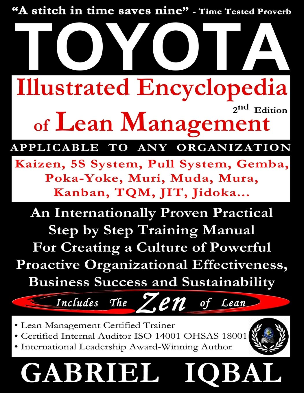 Buy Toyota Illustrated Encyclopedia Of Lean Management Book Online