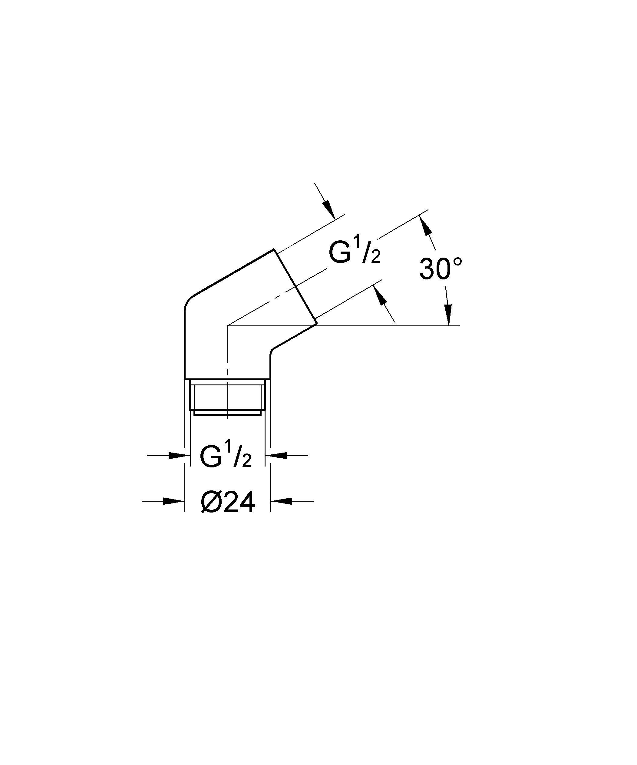 Adapter Elbow by GROHE (Image #2)