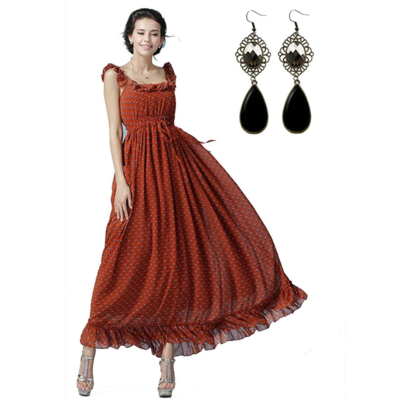 Sitengle Damen Abendkleider Chiffon Elegant Ballkleider ...