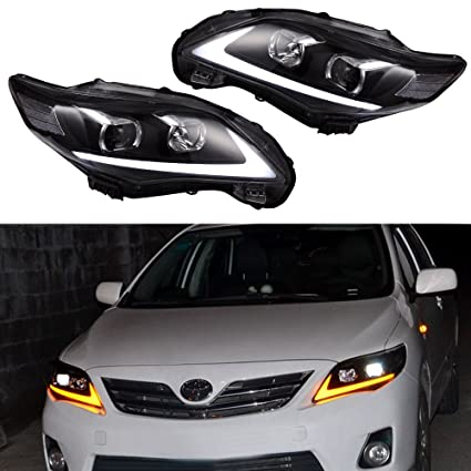 2013 toyota corolla led headlights