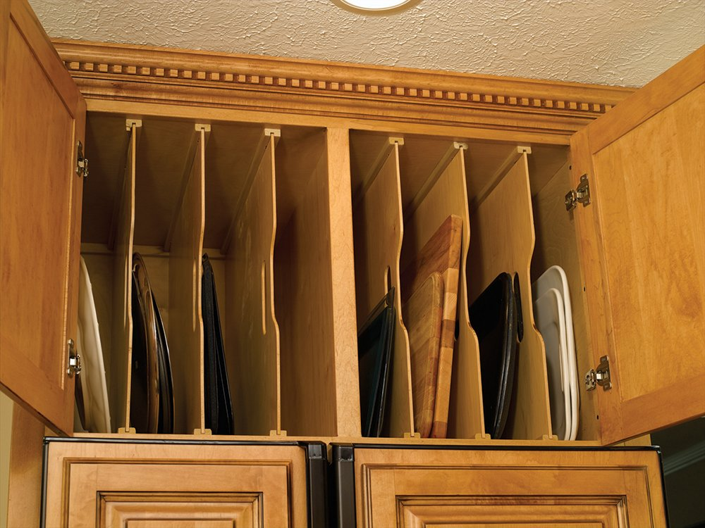 Omega National Wood Tray Dividers in Maple by Omega National Products