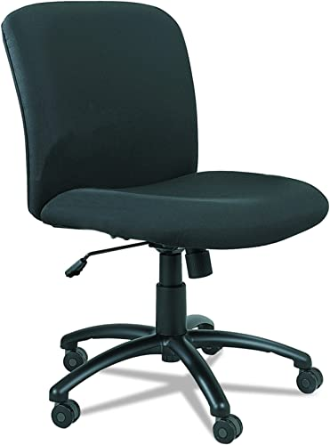 Safco Products Uber Big and Tall Mid Back Chair 3491BL