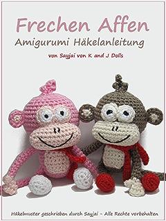 Hab Mich Lieb äffchen Amigurumi Häkelanleitung Große Puppen Zum
