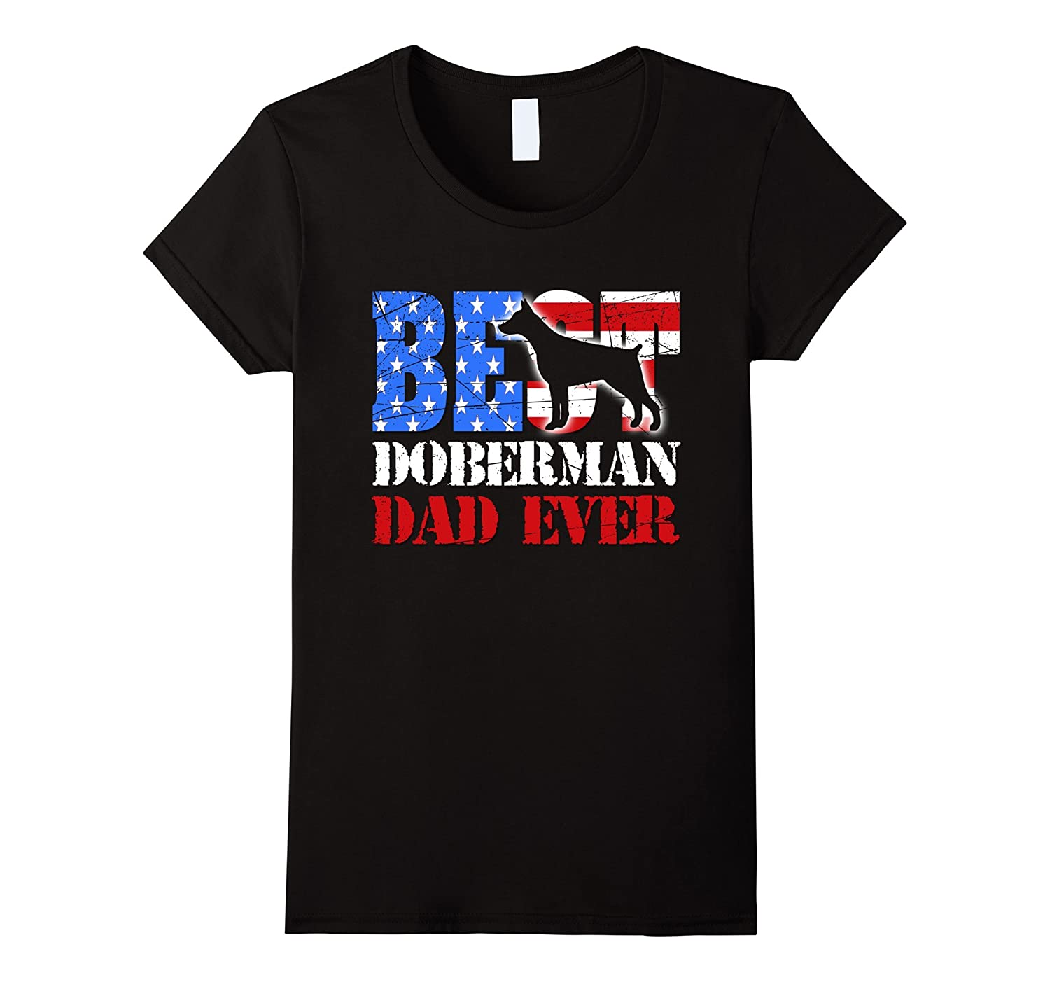 Best Doberman Dad Ever shirt