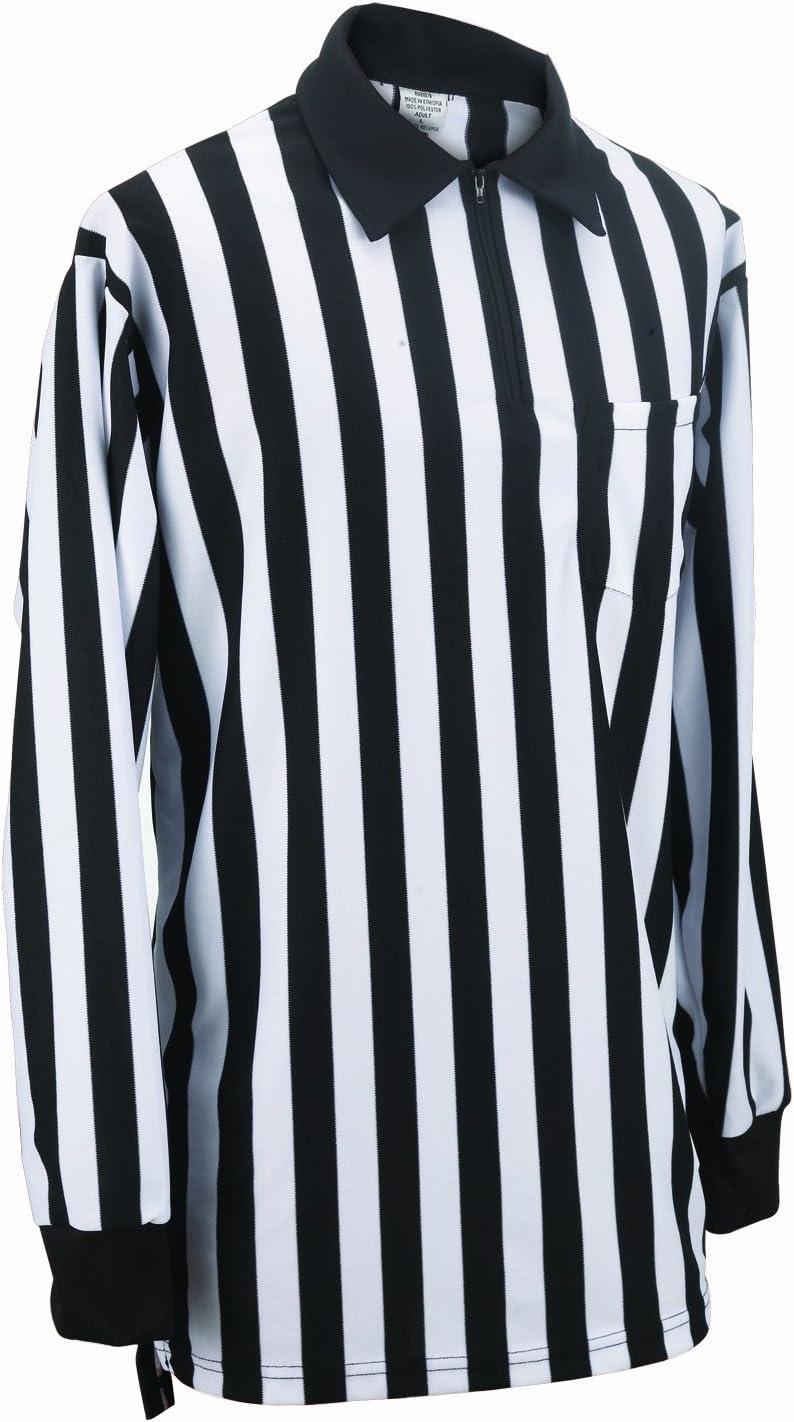 Adams USA Smitty FBS112 Football Officials Elite Knit Long Sleeve Shirt