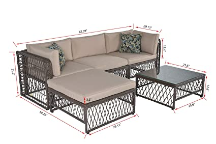 Amazon.com : Retro-Style Casual Group Eats Seating Set of 5 ...