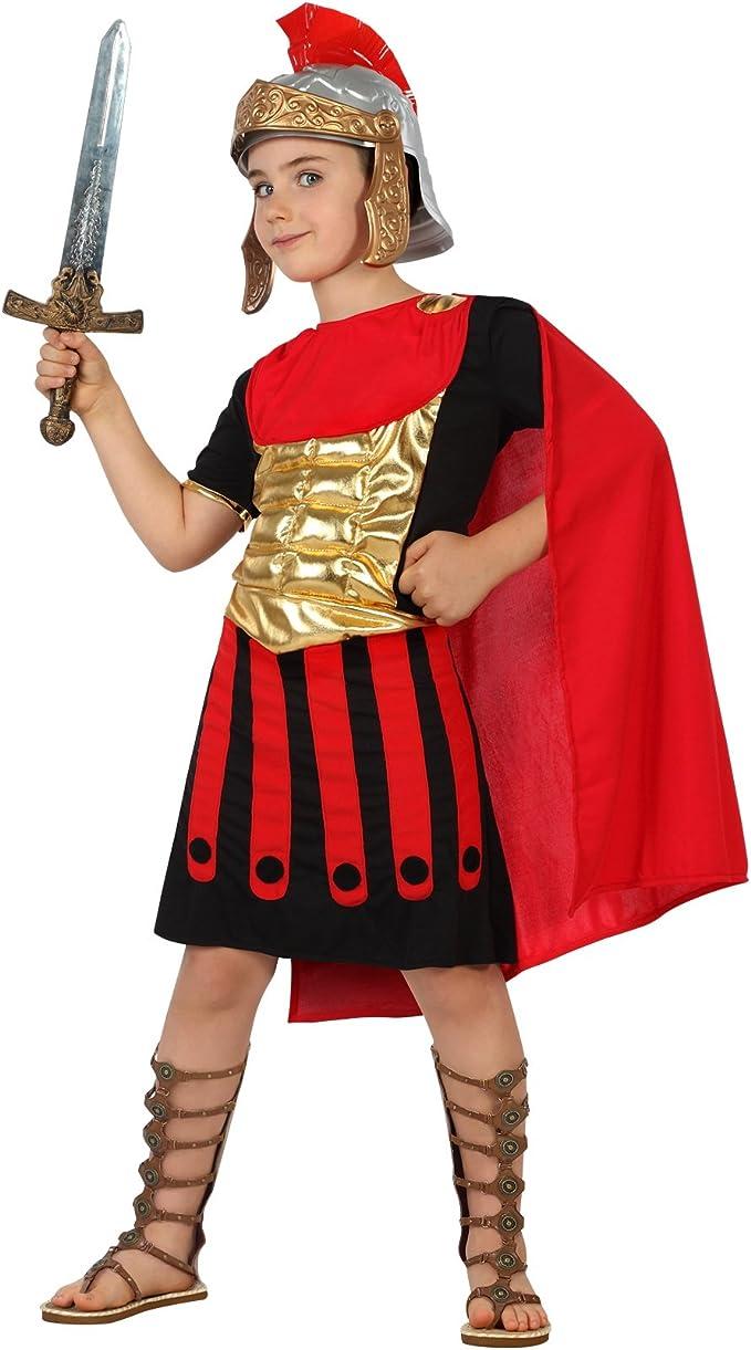 Atosa-22252 Disfraz Romano, color rojo, 7 a 9 años (22252): Amazon ...
