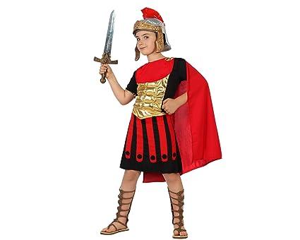 Atosa-22253 Disfraz Romano, color rojo, 10 a 12 años (22253)
