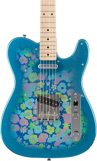 Fender MIJ Classic 69 Telecaster - Flor azul: Amazon.es ...