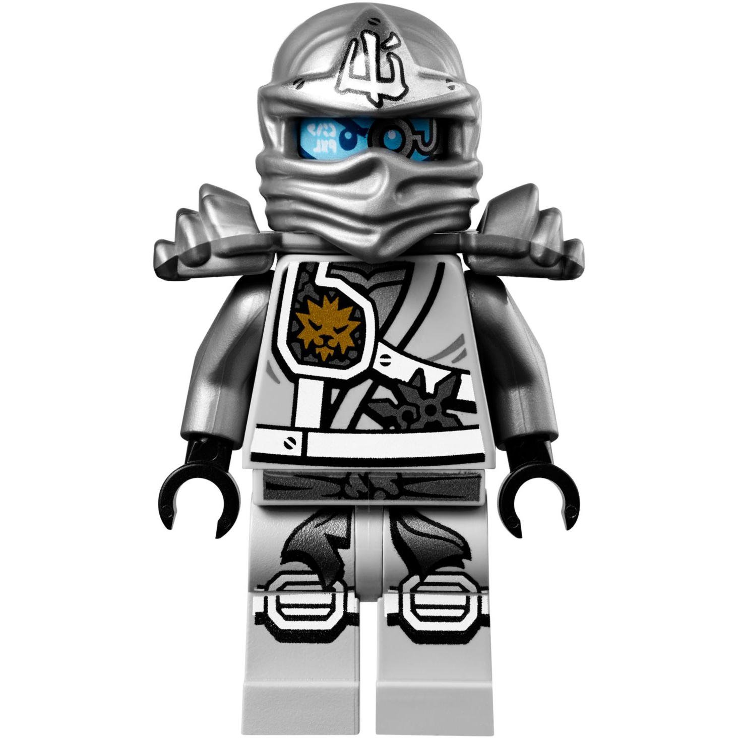 LEGO® Ninjago Minifigure - Zane Titanium Ninja Gold Sai ...