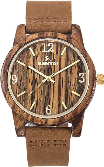 bracelet cuir pour montre en bois