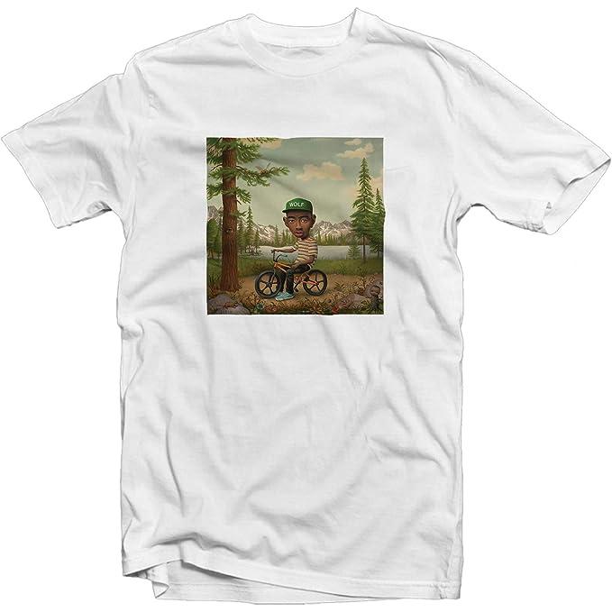 ce098347fd65 Amazon.com  Cherry Bomb Golf Wang T Shirt Wolf Gang Bee Hip Hop Rap ...