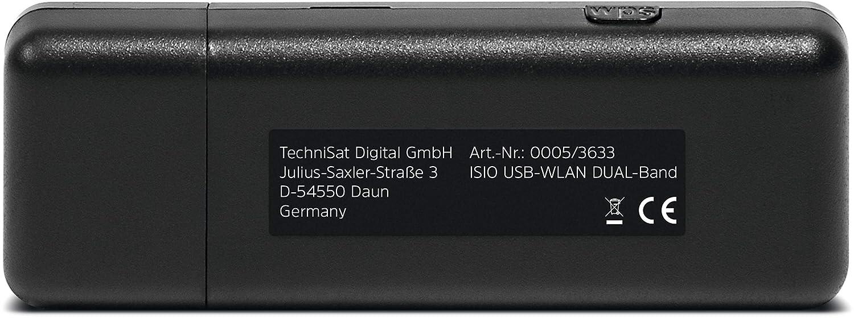 TechniSat TELTRONIC ISIO USB WLAN-Adapter Dualband schwarz