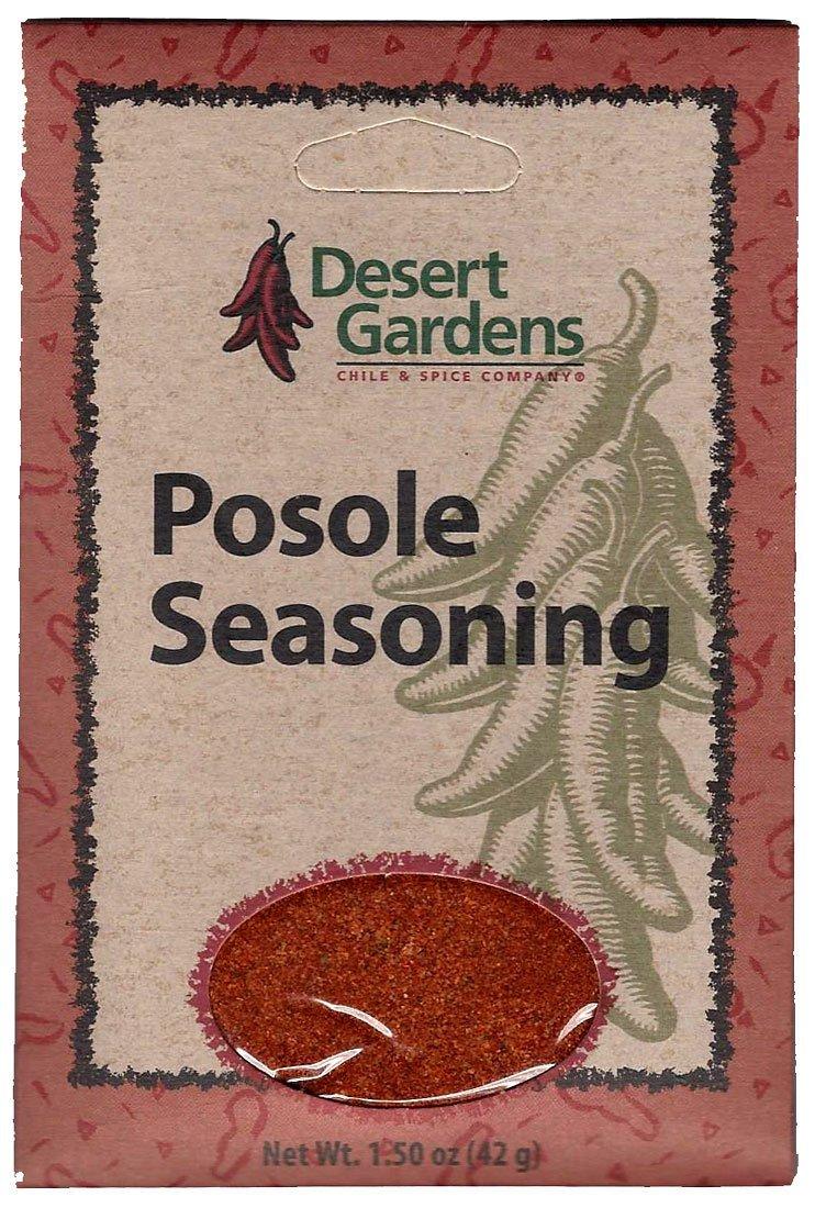 Desert Gardens Posole Seasoning Mix (Pack of 4)