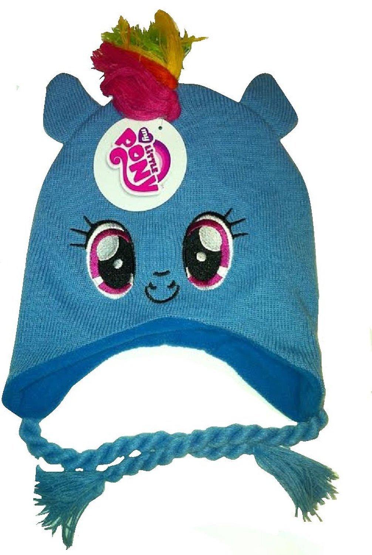 My Little Pony Rainbow Dash Mohawk Knit Hat Amazonca Toys Games