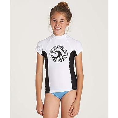 806bd0fca1 Billabong Girls' Girls' Surf Dayz Performance Short Sleeve Rashguard
