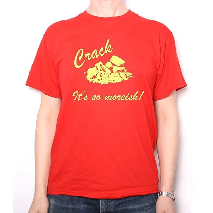 3df74c8c Old Skool Hooligans Peep Show T shirt - Super Hans Crack It's So Moreish (S