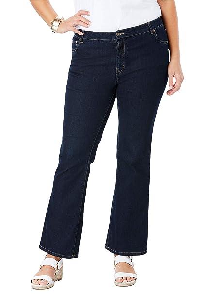 Amazon.com: Jessica London - Pantalones vaqueros rectos para ...