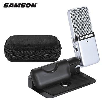 amazon com samson go mic mini portable recording condenser rh amazon com Samson Go Mic Connect Walmart Samson Go Mic