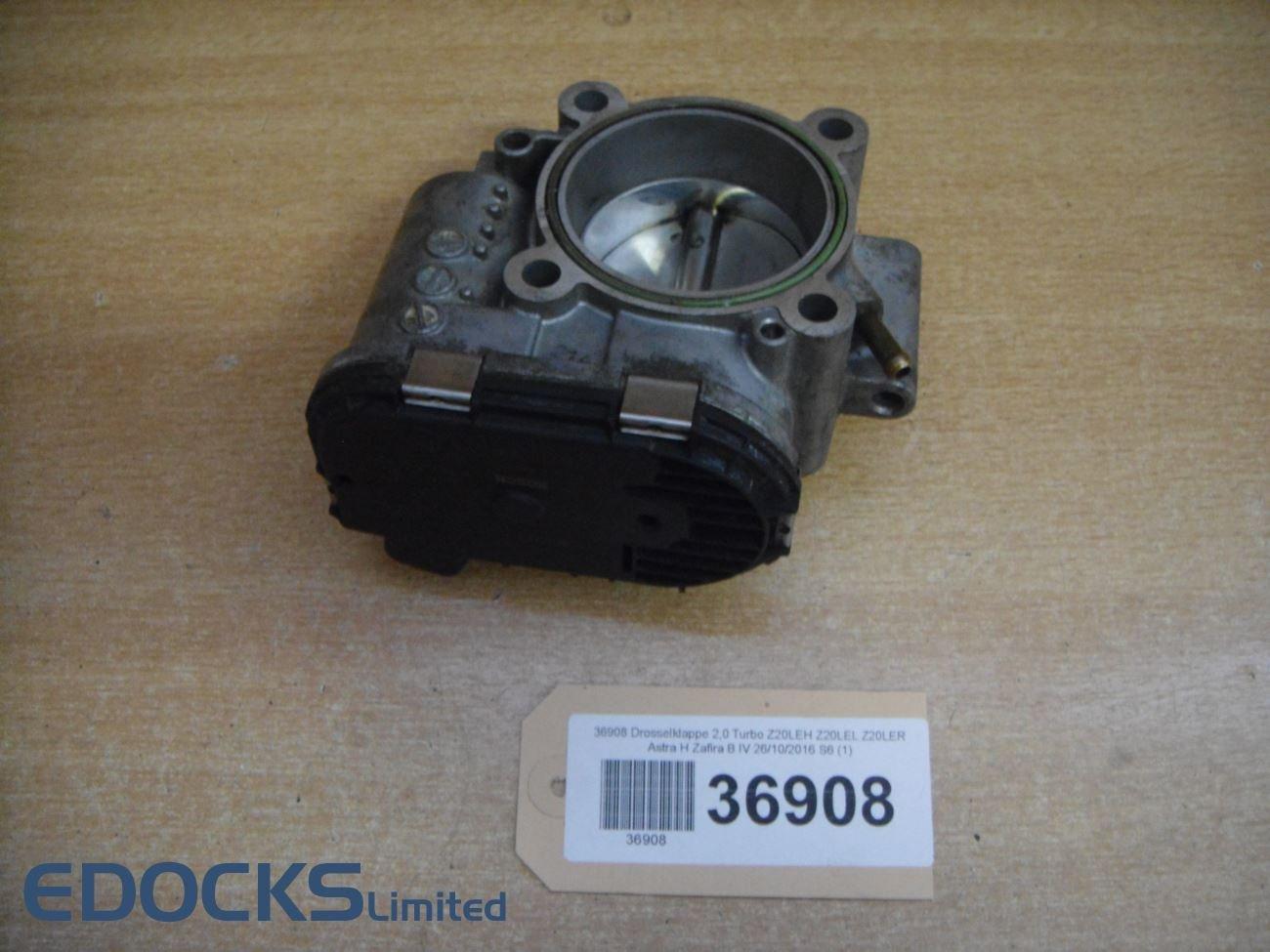 Válvula de estrangulación 2,0 Turbo z20leh z20lel z20ler Astra H, Zafira B Opel: Amazon.es: Coche y moto