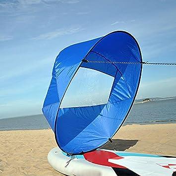 Bluelliant Vela Kayak Azul Accesorios para Canoa Hinchable Barco ...